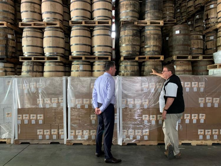 Jeremy Kasler at Kentucky Artisan Distillery