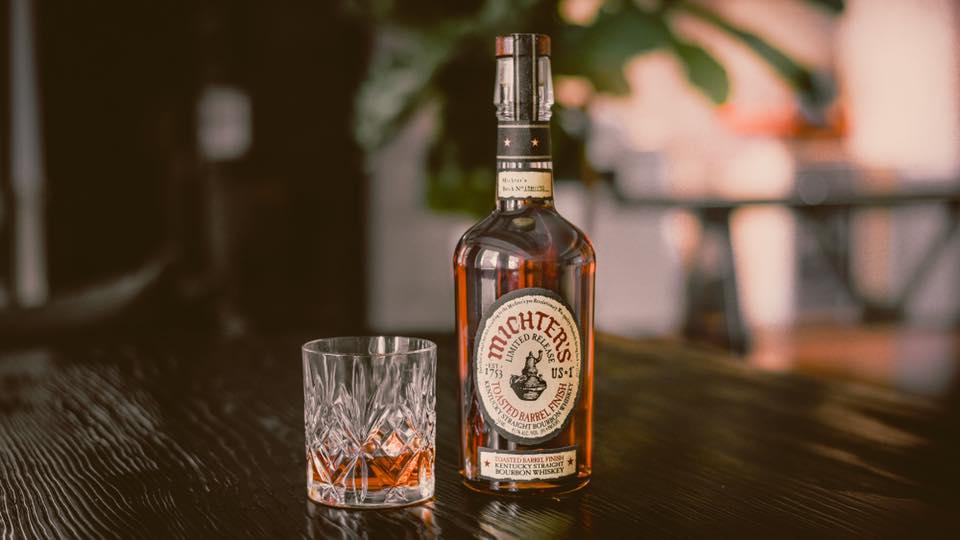 Michter's Toasted Bourbon bottle